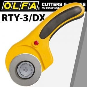 Olfa cutter model rty-3/dx rotary(CTR RTY3DX)