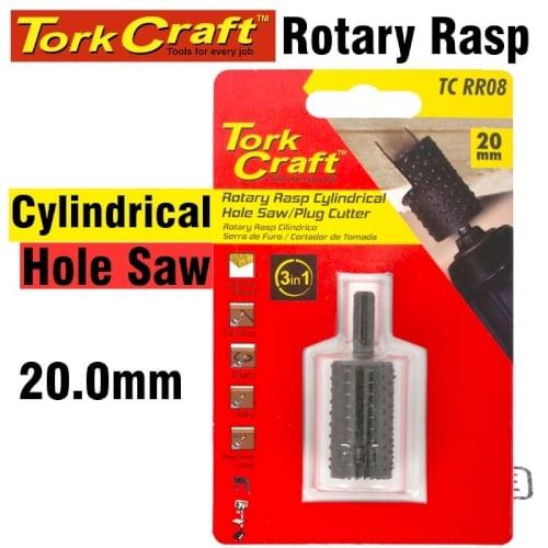 Rotary drum rasp cylindrical 20mm x 35mm