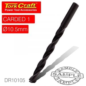 Drill bit hss standard 10.5mm 1/card