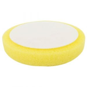 Foam pad velcro yellow sponge 150mm 6′ compounding